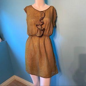 BeBop sheer ruffled dress
